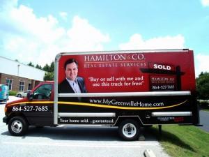 Hamilton & Company Moving Truck